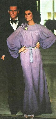 Givenchy by Classic Style of Fashion (Fourth) on Flickr. Model is wearing a creation by Givenchy. Vogue Paris Original Patterns,1974.