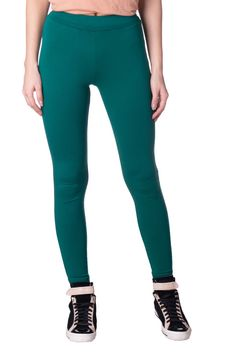 81ba8d951a56c HOSS INTROPIA Leggings Size 38 / S Green Elasticated Waist Cropped #fashion  #clothing #