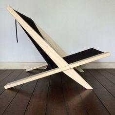 Poul Kjaerholm and Jørgen Høj / Wooden chair with flagline - organ-online.com
