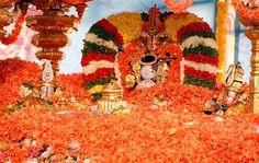 On 4th July 2015, Pushpayagam will be conducting in sri prasanna venkateswara swamy temple, Appalayagunta. Being on Pushpayagam Event, on 3rd July Senapathi Utsavam Ankurarpana and on 4th July morning Suprabatha seva, Archana, Abhishekam will be done. At