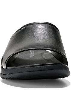 Cole Haan 2.ZeroGrand Slide Sandal (Men) | Nordstrom Easy Fire Pit, Slide Sandals, Cole Haan, Warm Weather, Wardrobe Staples, Sunglasses Case, Nordstrom, Classic, Men