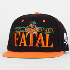 ce2175a92ea FATAL FC Bear Mens Snapback Hat