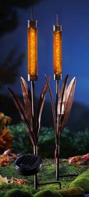 Solar Cattail Lights Cinici