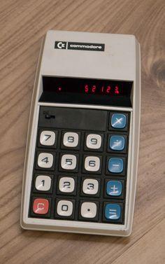 #Commodore Modell 884D #Taschenrechner #Calculator