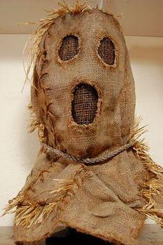 The Scarecrow's Post: Burlap Bubba