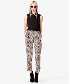 Leopard Print Harem Pants | FOREVER 21 - 2031557147