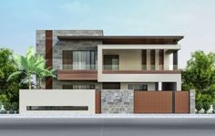 86 Architectural Design Pictures for Residential Buildings is part of Modern house exterior - Architectural design is a concept that focuses on components or elements of a structure An architect is generally the one in charge of the architectural design … Bungalow Haus Design, Duplex House Design, House Front Design, Modern House Design, Home Design, Interior Design, Modern House Facades, Modern Architecture House, Modern House Plans