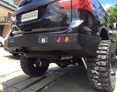 Here are photos of Doug Kramer's heavily modified Isuzu MU-X. It's the most badass MU-X SUV out there. Badass, Monster Trucks, Image