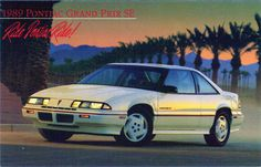 Pontiac Grand Prix   My friend & I had one alike her's was just like this 1991 except it was red.  Mine was 1994 red, but Steve Miller had one just like this one. :)