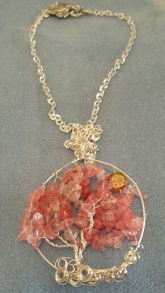 Tree of Life pendant by Mary Drayer
