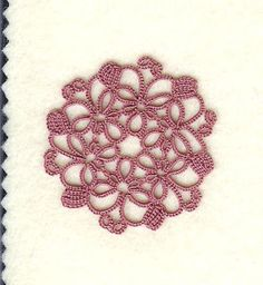 ancolie is tatting: Challenge Motif # 9 - block tatting