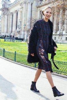 The best street style looks from the couture fashion shows