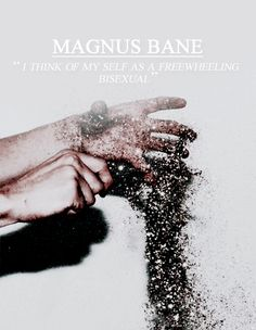 The Mortal Instruments by Cassandra Clare //Magnus