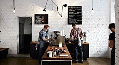 Retail Design: Market Lane Coffee in Melbourne, Australia Coffee Shop Design, Cafe Design, Web Design, Design Files, Design Market, Store Design, Modern Design, Graphic Design, Cafe Shop
