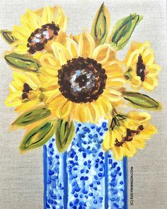 Say it with Sunflowers, 11x14