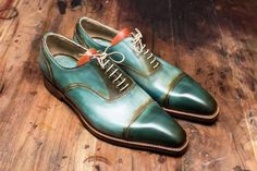 Duyf Two-Tones, handmade shoe