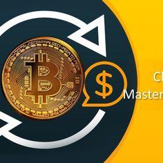 bitcoin background design for PowerPoint presentation