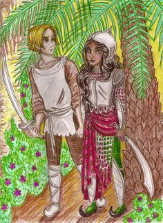 Shasta and Aravis The Chronicles of Narnia: The Horse and the Boy