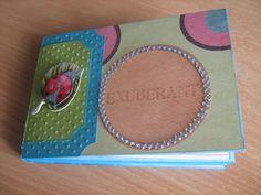 Mini album con buste da lettera lunghe