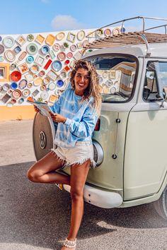 Van Trip Portugal Algarve, Along The Way, Travel Guide, Photo Ideas, Road Trip, Mini Skirts, Van, Instagram, Mariana