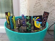 More garden stakes