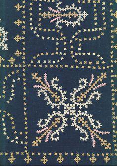 Marash needlwork - Armenian - detail of front - http://www.yorkeantiquetextiles.com/items/2218-2.jpg