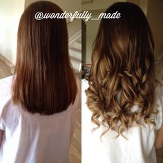 No color , used extensions to add color. Hair With Flair, Beauty Tips, Beauty Hacks, Brunette Ombre, Tape In Hair Extensions, Cut And Color, Hair And Nails, Brown Hair, Locks