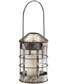 galvanized metal house lantern - 960×960