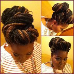 Style adjoa in london havana twists twist styles and havana maybe i can try this updo with my box braids very cute pmusecretfo Choice Image