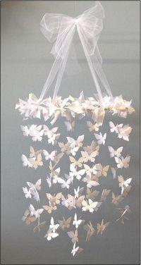 movil de mariposas