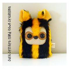 $12.00 Bumblebee IV Critter by CuteCritters on Handmade Australia