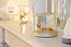 DIY boule à neige // diy for christmas Fabriquer ses boules à neige, pour une décoration de Noël poétique. Vanessa Pouzet