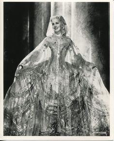 Portrait of Norma Shearer for Marie Antoinette directed by W.S. Van Dyke, gowns by Adrian, 1938