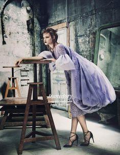 Anastasia Ivanova By Nicolas Guerin For Schön! #26 As'Transitory' - 3 Sensual Fashion Editorials | Art Exhibits - Anne of Carversville Women's News