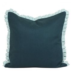 Charleston Pleated Pillow- Teal #beautifulswitch