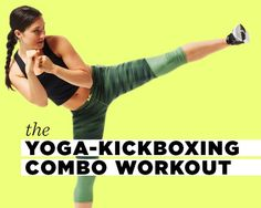 The 6-Move Routine That'll Work Muscles You Didn't Even Know You Have http://www.womenshealthmag.com/fitness/yoga-kickboxing-combo-workout