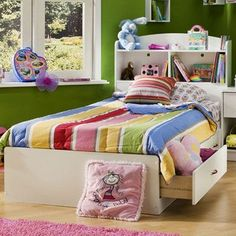 Found it at Wayfair - Logik Twin Mate's Bed with Storage