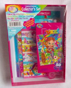 Lisa Frank Limited Edition Collector's Set Sealed Puzzle Stickers Stationery  #LisaFrank