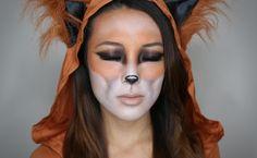 Fox Animal Halloween Makeup
