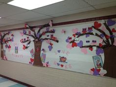 A Valentine's Day Bulletin Board Idea For Library. Owl Always Love Reading