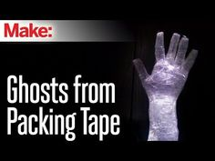 Are you looking for some awesome DIY Halloween decorations? Check out these 10 Packing Tape Ghost Ideas to really scare the trick-or-traters. Halloween Prop, Halloween Facts, Spooky Halloween Decorations, Outdoor Halloween, Halloween Ghosts, Diy Halloween Decorations, Yard Decorations, Homemade Halloween, Halloween Halloween