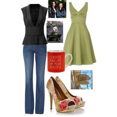 """""""Lorelei Gilmore"""" by eveder on Polyvore. Love this shirt!!"""