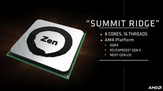 CPU製造大手のAMDが、アメリカ・サンフランシスコで開催されているIntelのイベントIDF16に合わせる形で、次世代マイクロアーキテクチャ「Zen」の概要を発表。次期ハイエンドCPUであるコー