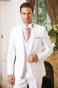 johann - Costume 3 pièces Blanc