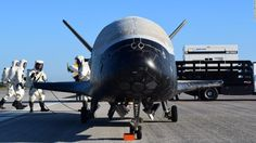 Air Force's mysterious space plane lands #Science #iNewsPhoto