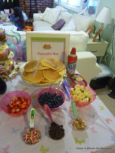 Pancake and Pajama Party- Family Fun Friday | Home is Where the Mouse is
