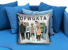 Odd Future Adventure Time OFWGKTA  These soft pillowcase made of 50% cotton, 50% polyester.  It would be perfect to decorate your home by using our super soft pillow cases on sofa, chair, bench or bed.  Customizable pillow case is both comfortable and durable, improving the quality of your sleep with these comfortable pillow case, take it home now!  Custom Zippered Pillow Cases available in 7 different size (16″x16″, 18″x18″, 20″x20″, 16″x24″, 20″x26″, 20″x30″, 20″x36″)