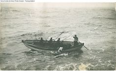 A Body Being Recovered From Titanic's Sea