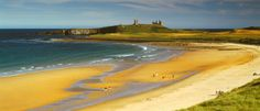 """world's most beautiful beach - Embleton"" Northumberland- I sat here yesterday in the sun and it was gorgeous"