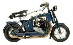 1921 Mighty Atom mini bike.